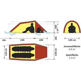 Hilleberg Anjan 2 teltta , punainen